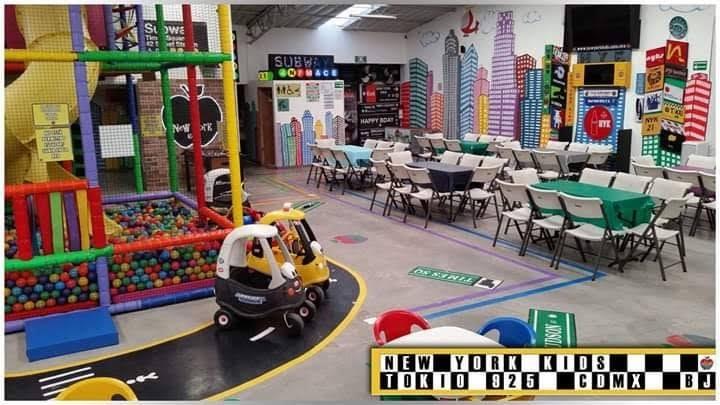 Salón de fiestas infantiles en portales