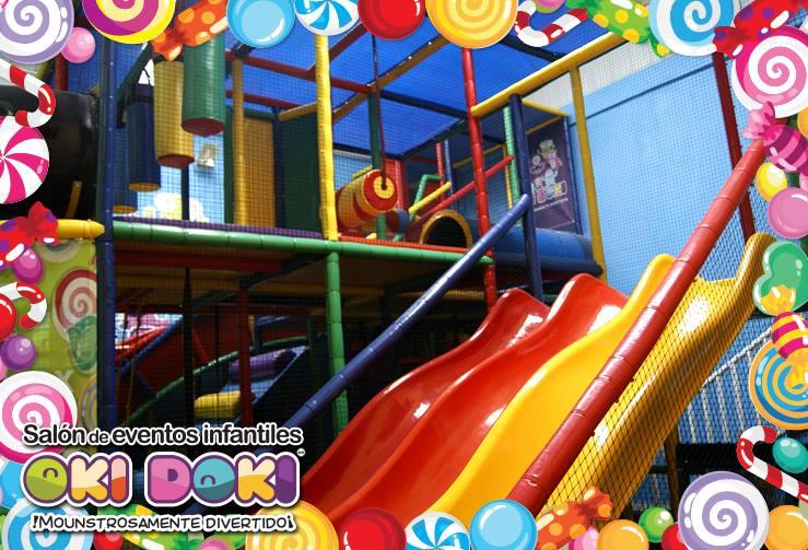 Salón de fiestas infantiles en Aragón Oki Doki