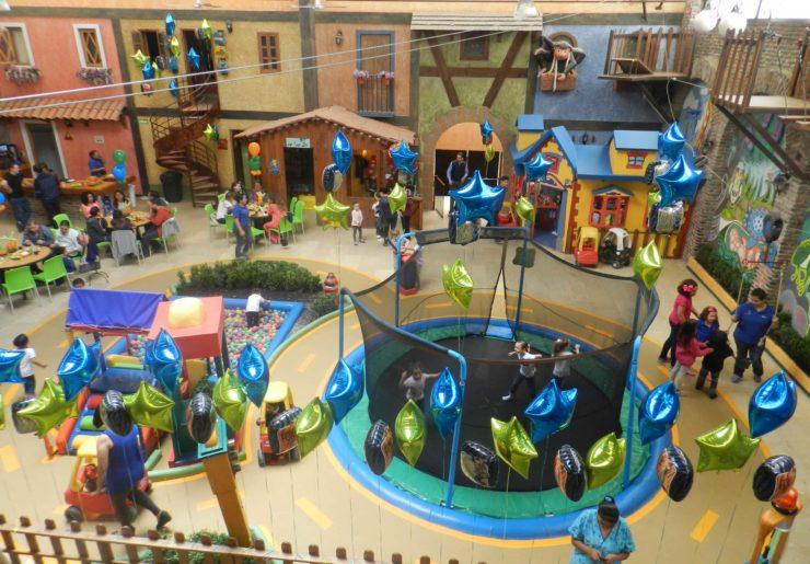 Salón de fiestas infantiles en tlalpan