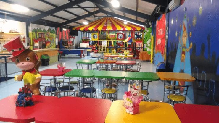 Salón de fiestas infantiles en benito juárez el circo de Bony