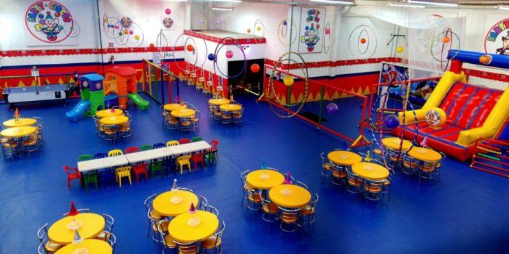 Salón de fiestas infantiles en Pantitlán Party Circus