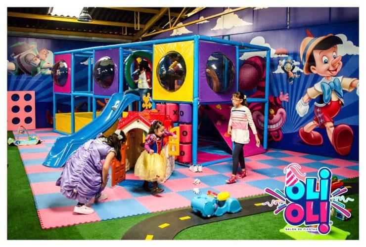 Salón de fiestas infantiles en Lindavista