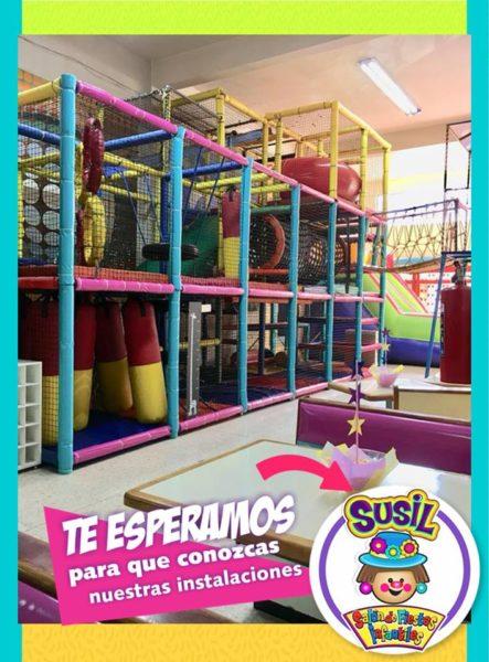 Salón de fiestas infantiles en Azcapotzalco Susil Kids