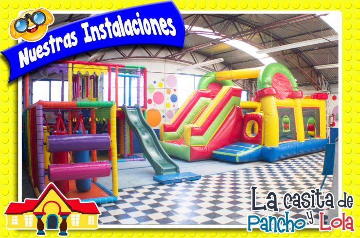 Salón para fiestas infantiles en Pantitlán